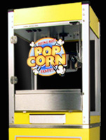 Yellow Popcorn Machine
