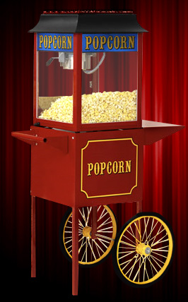 1911 ORIGINAL Popcorn Machine