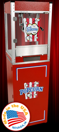 CINEPLEX RED Popcorn Machine