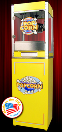 CINEPLEX YELLOW Popcorn Machine